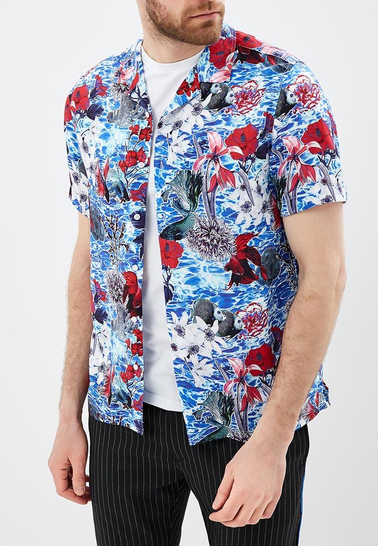 Рубашка с длинным рукавом Topman (Топмэн) 83D51OBLE