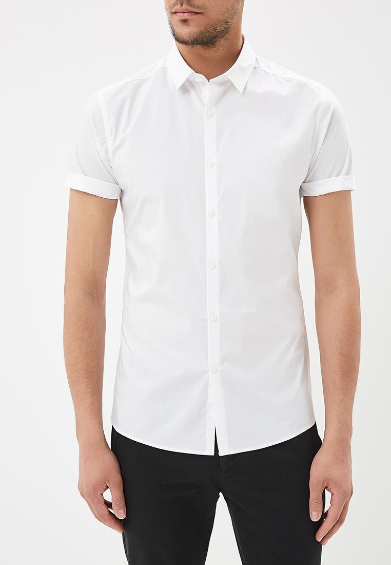 Рубашка с коротким рукавом Topman (Топмэн) 84A02NWHT