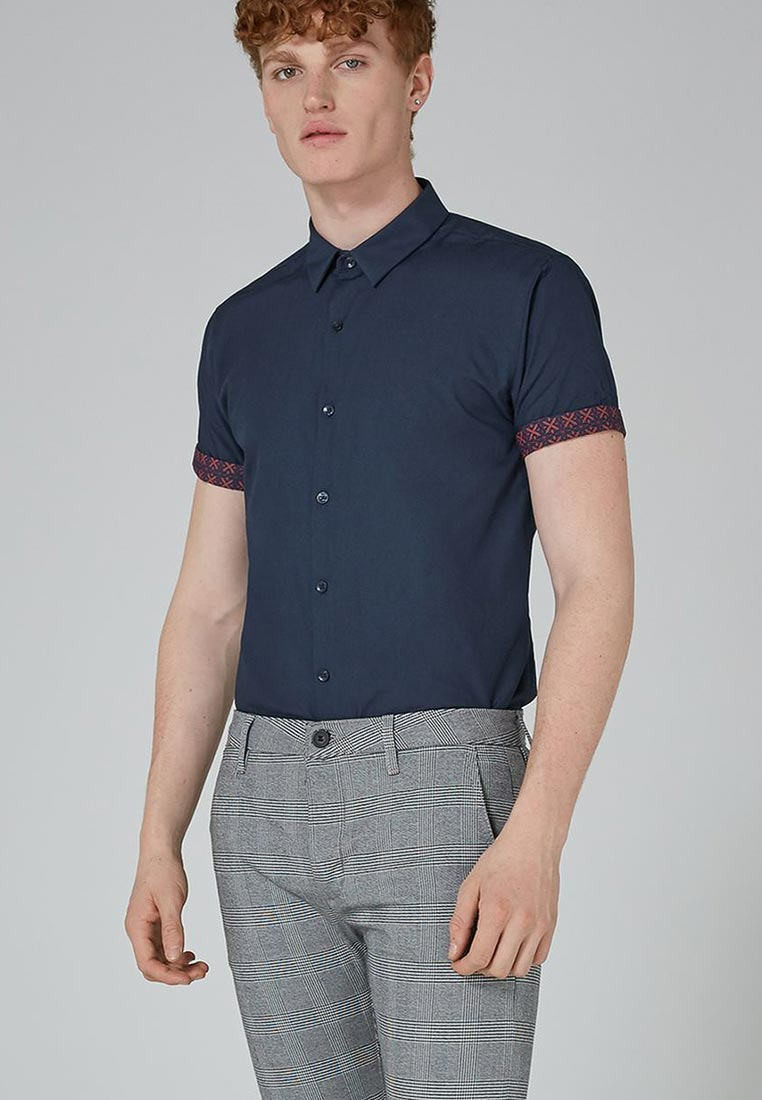 Рубашка с коротким рукавом Topman (Топмэн) 84A05ONAV