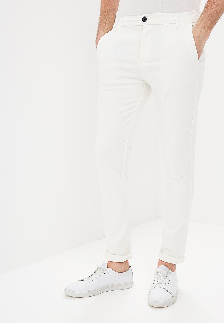 Мужские зауженные брюки Topman (Топмэн) 68D15OWHT