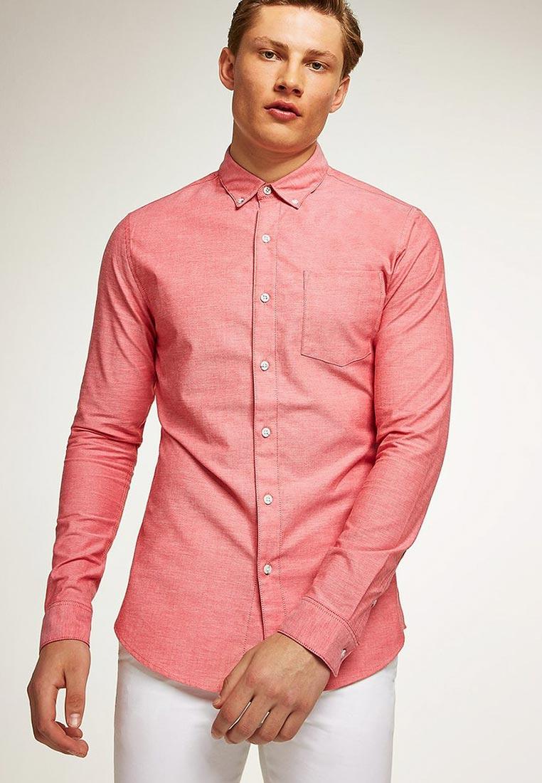 Рубашка с длинным рукавом Topman (Топмэн) 83B06PRED