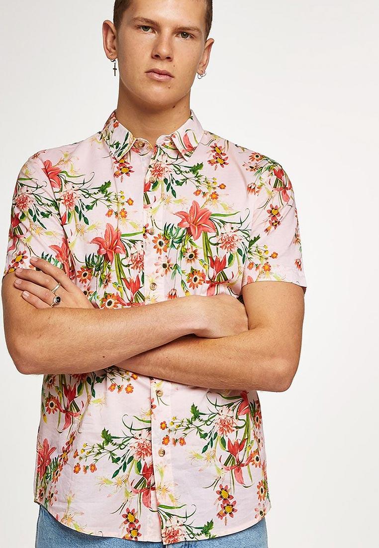 Рубашка с коротким рукавом Topman (Топмэн) 83D17PPNK