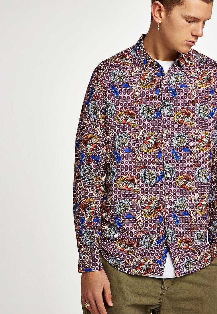 Рубашка с длинным рукавом Topman (Топмэн) 83U14OMUL