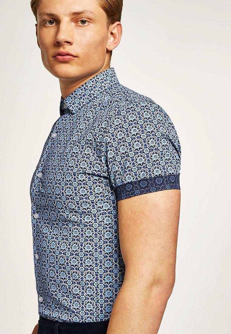 Рубашка с коротким рукавом Topman (Топмэн) 84C35PBLE