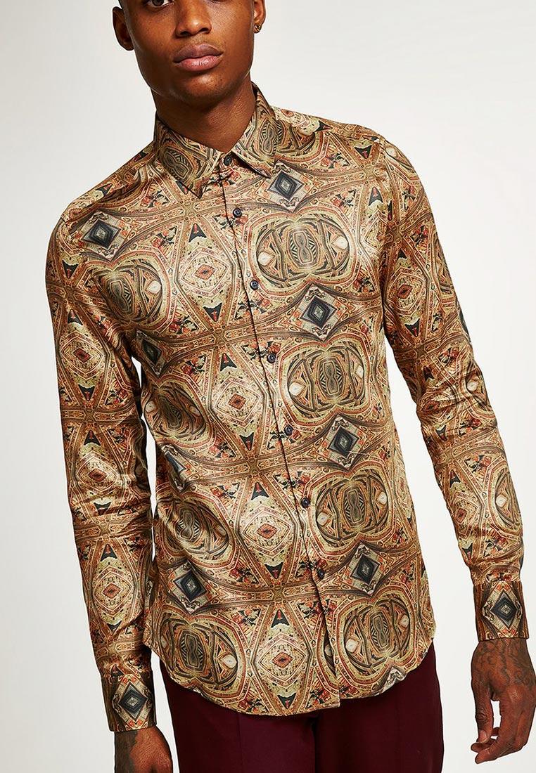 Рубашка с длинным рукавом Topman (Топмэн) 84P04PMUL