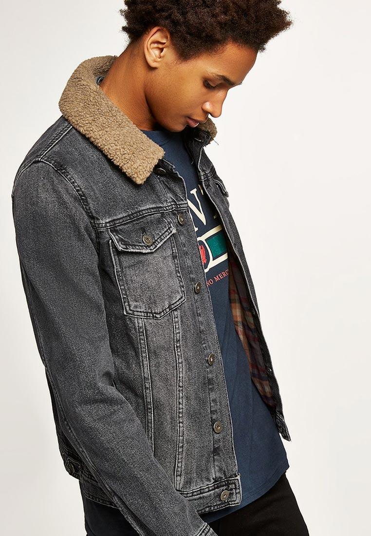 Джинсовая куртка Topman (Топмэн) 64Q00QWBL