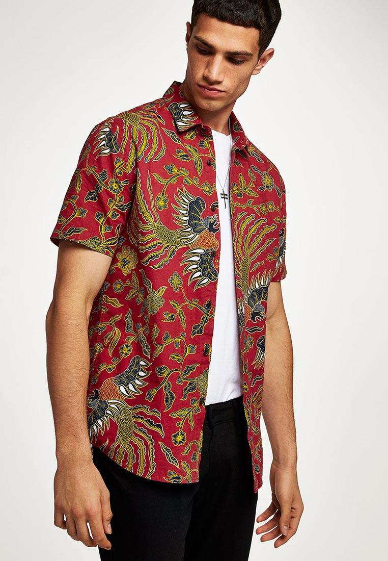 Рубашка с коротким рукавом Topman (Топмэн) 83D09PRED