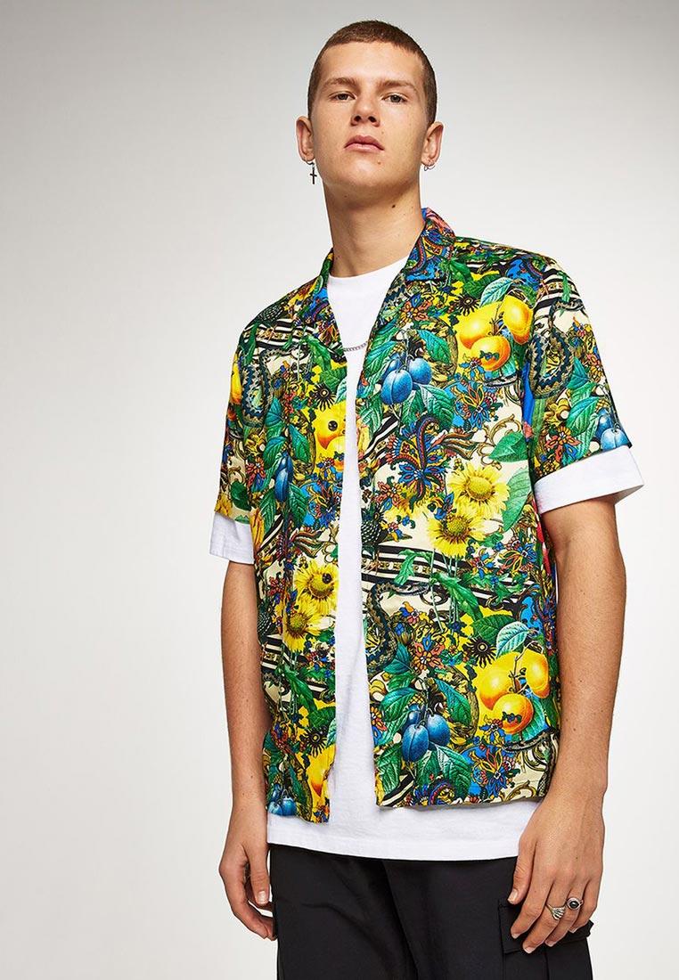 Рубашка с длинным рукавом Topman (Топмэн) 83D15PYLW