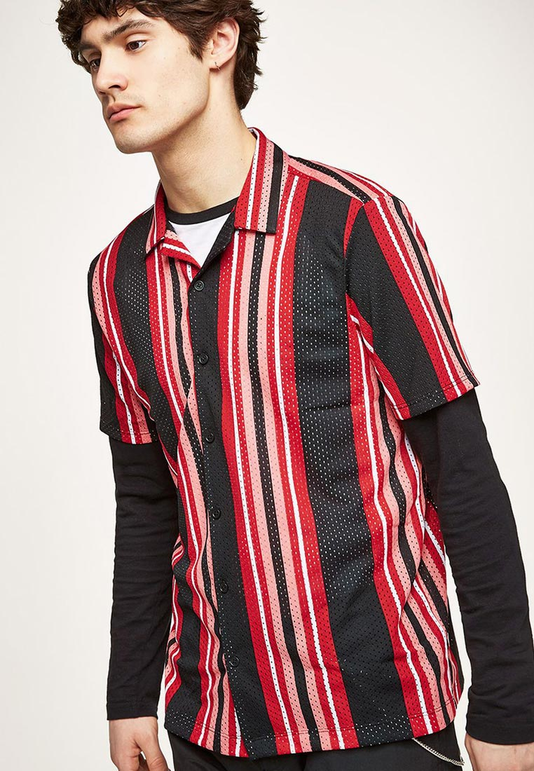 Рубашка с длинным рукавом Topman (Топмэн) 83D29PMUL