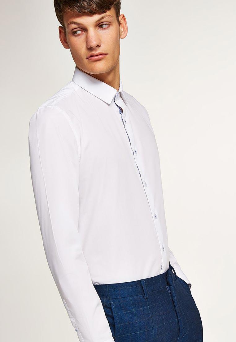 Рубашка с длинным рукавом Topman (Топмэн) 84L11PWHT