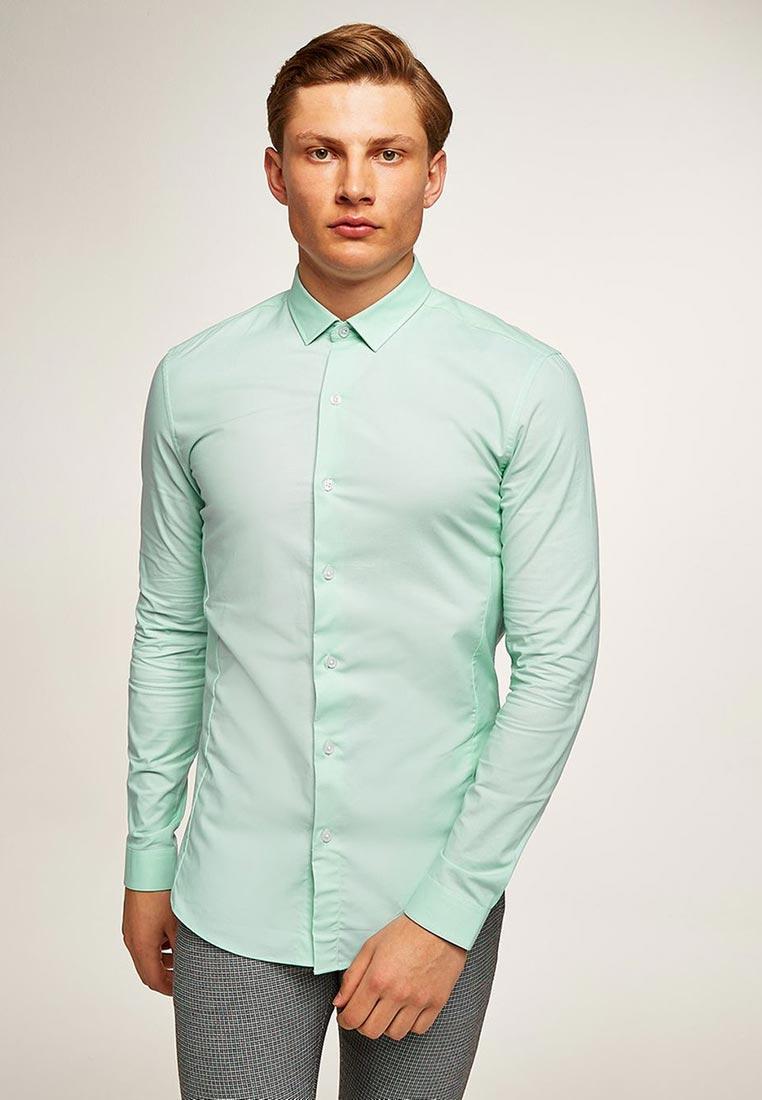 Рубашка с длинным рукавом Topman (Топмэн) 84L18PGRN