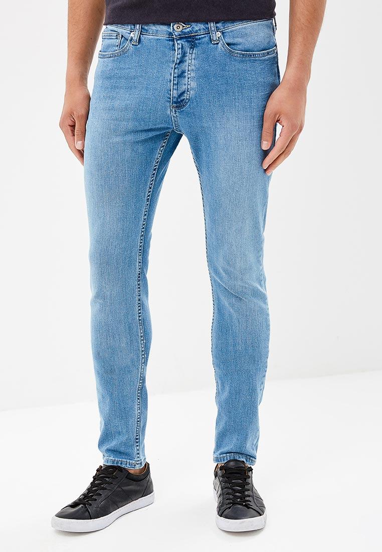 Зауженные джинсы Topman (Топмэн) 69F01OLST
