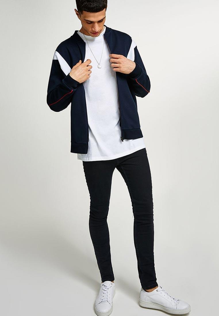 Зауженные джинсы Topman (Топмэн) 69F08PWBL: изображение 2