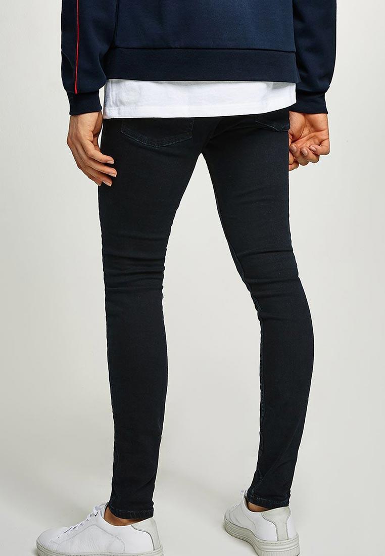 Зауженные джинсы Topman (Топмэн) 69F08PWBL: изображение 3