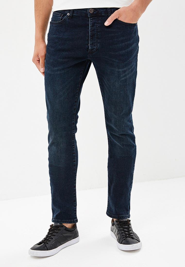 Зауженные джинсы Topman (Топмэн) 69P02PWBL