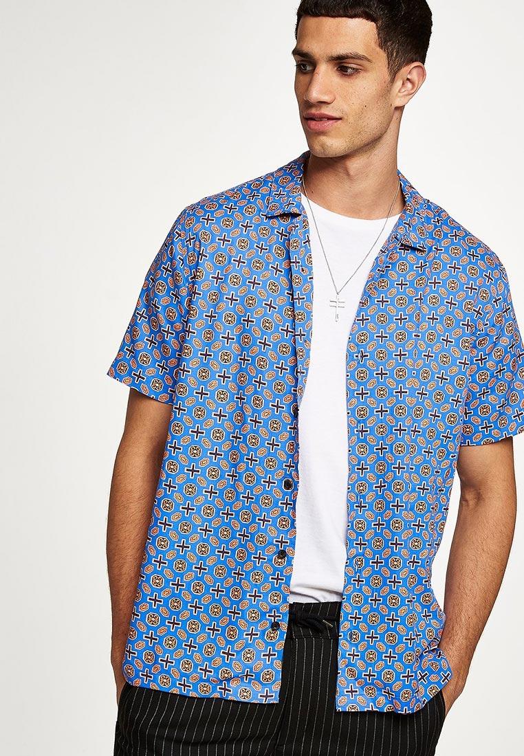 Рубашка с коротким рукавом Topman (Топмэн) 83D11PBLE