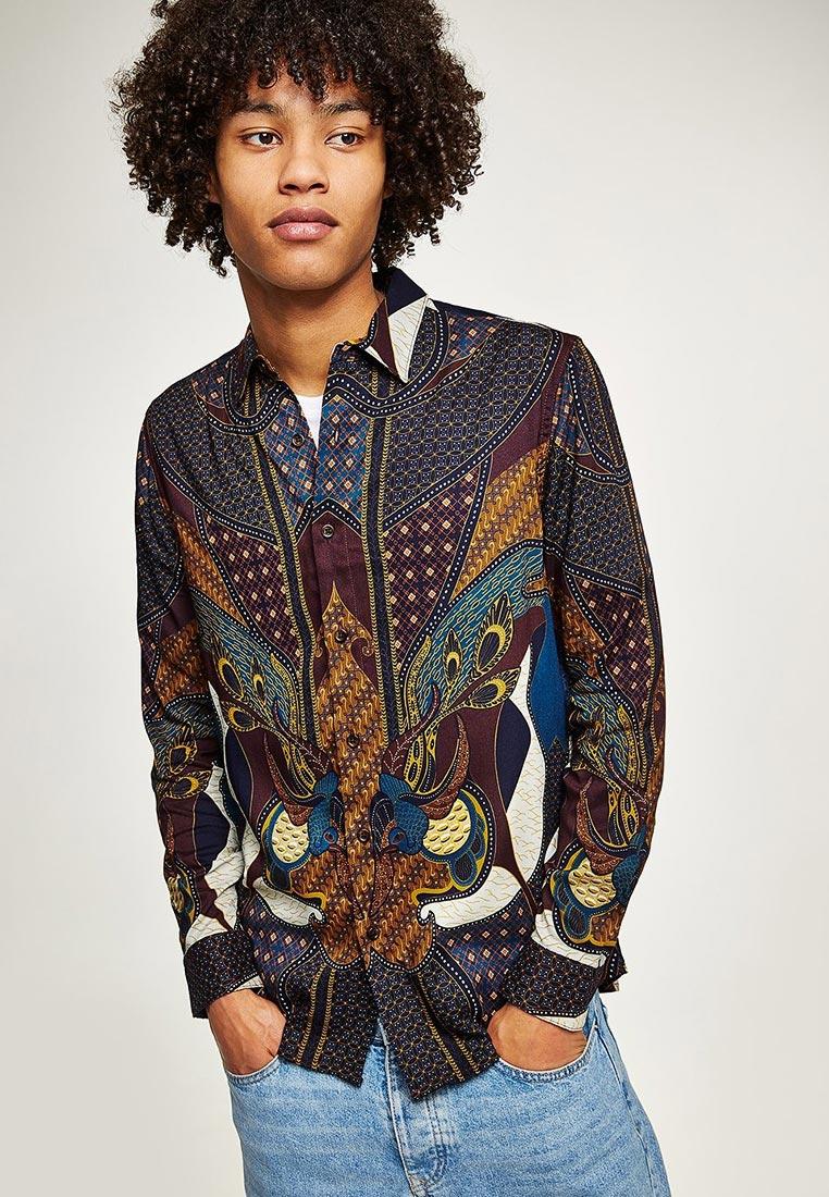 Рубашка с длинным рукавом Topman (Топмэн) 83U09OBRG