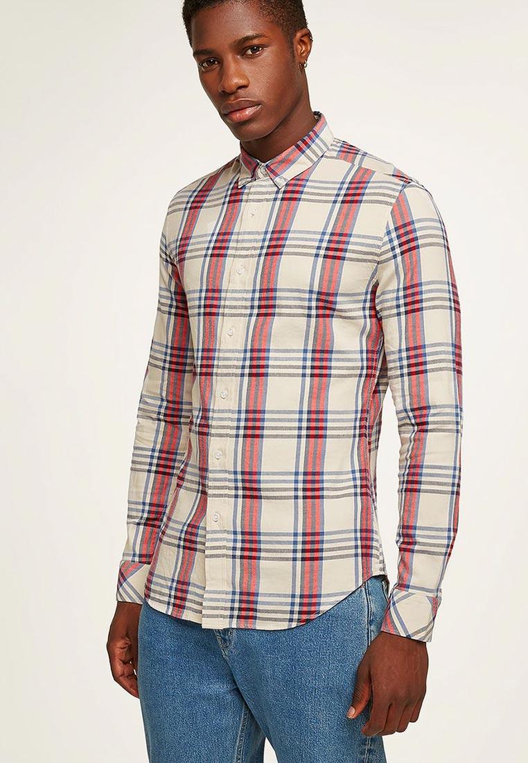 Рубашка с длинным рукавом Topman (Топмэн) 83C03PSTN