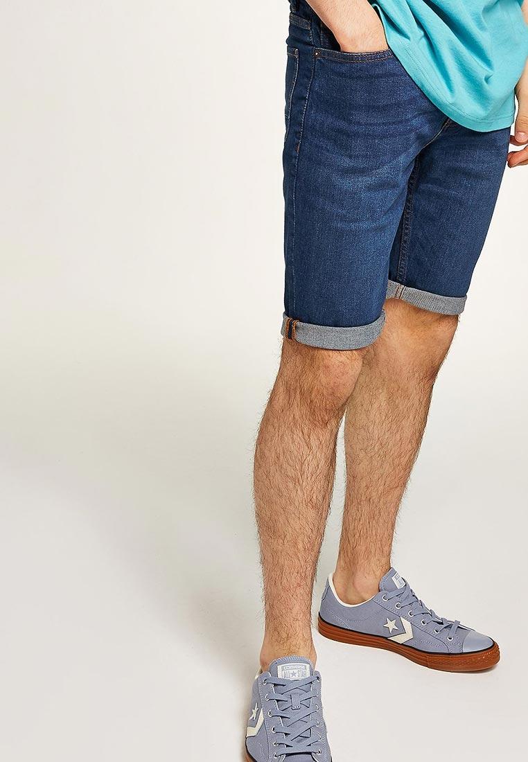 Мужские джинсовые шорты Topman (Топмэн) 33D01PBLE