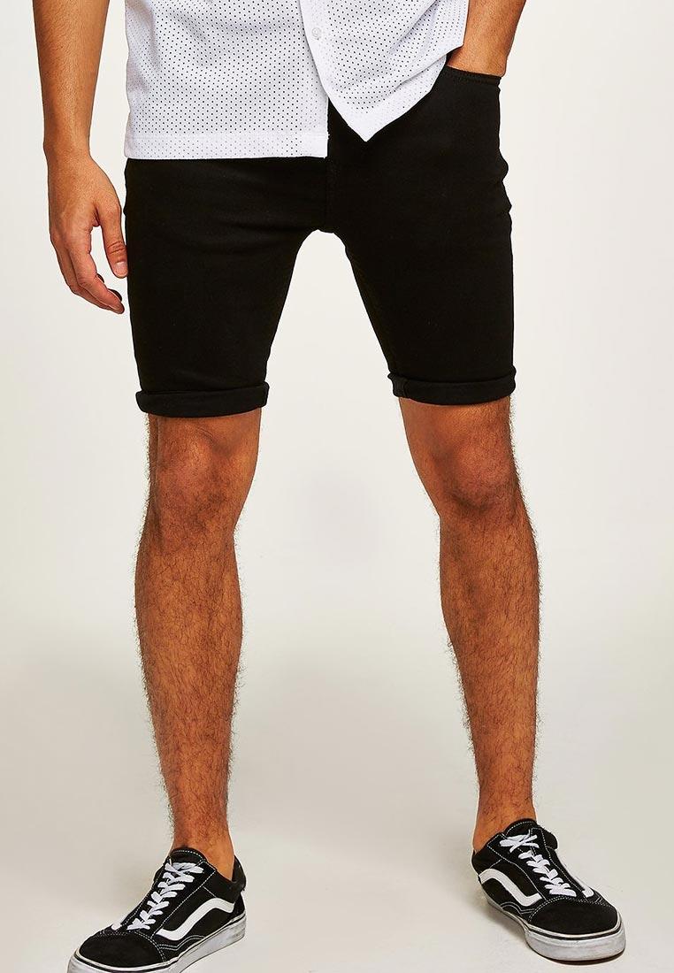 Мужские повседневные шорты Topman (Топмэн) 33D07PBLK