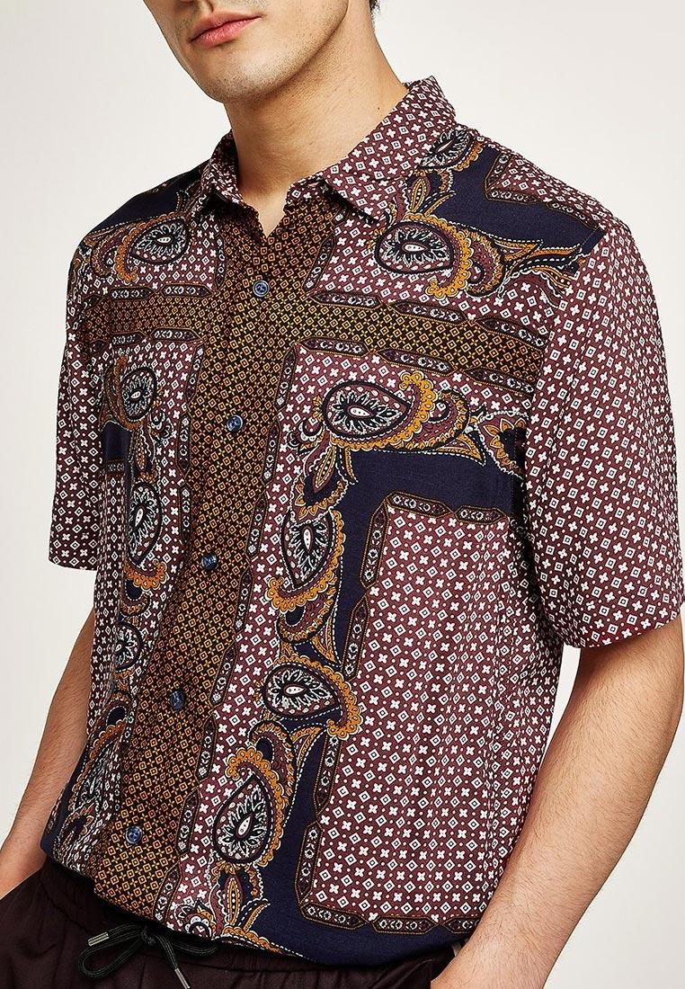 Рубашка с длинным рукавом Topman (Топмэн) 83U58OBRG