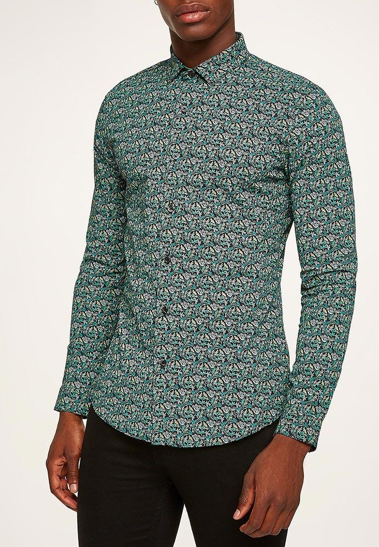 Рубашка с длинным рукавом Topman (Топмэн) 84C34PGRY