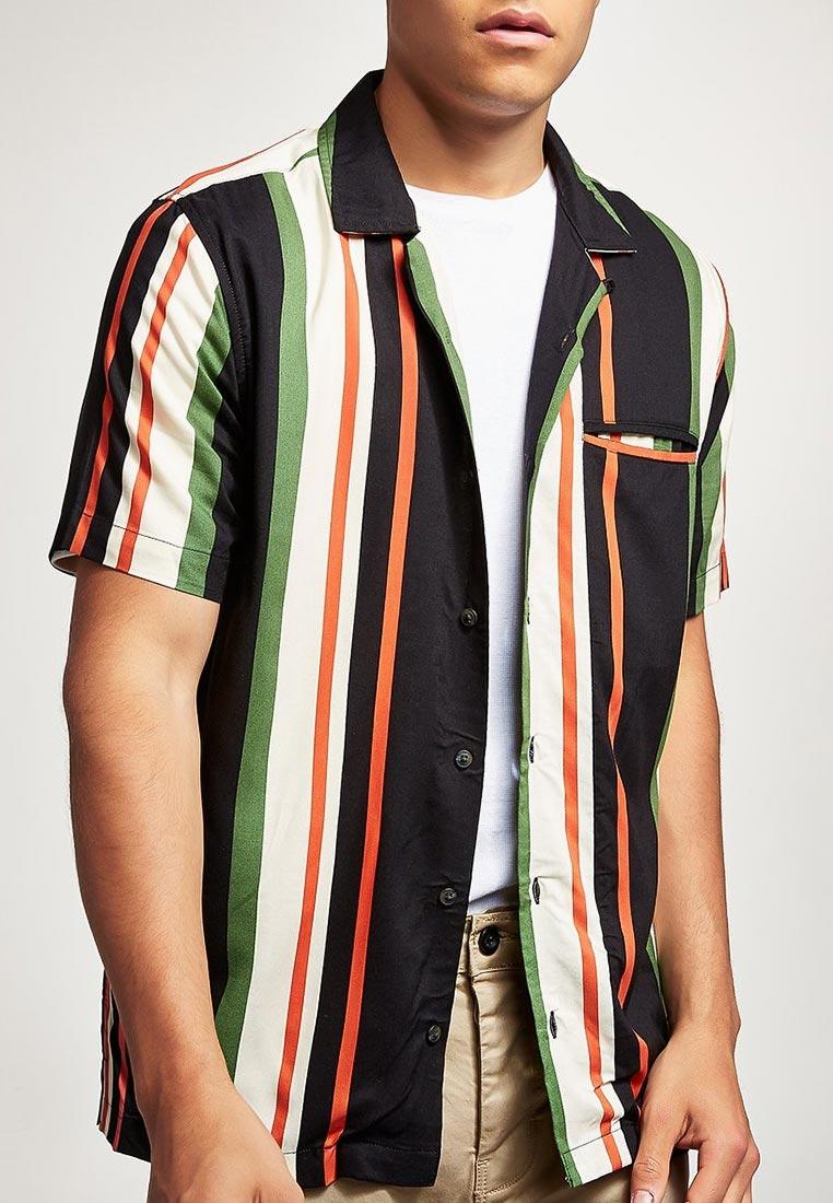 Рубашка с коротким рукавом Topman (Топмэн) 83D33PMUL
