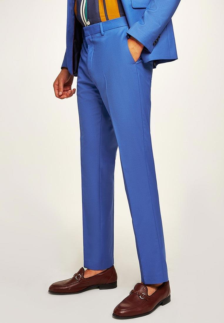 Мужские зауженные брюки Topman (Топмэн) 87T62QBLE