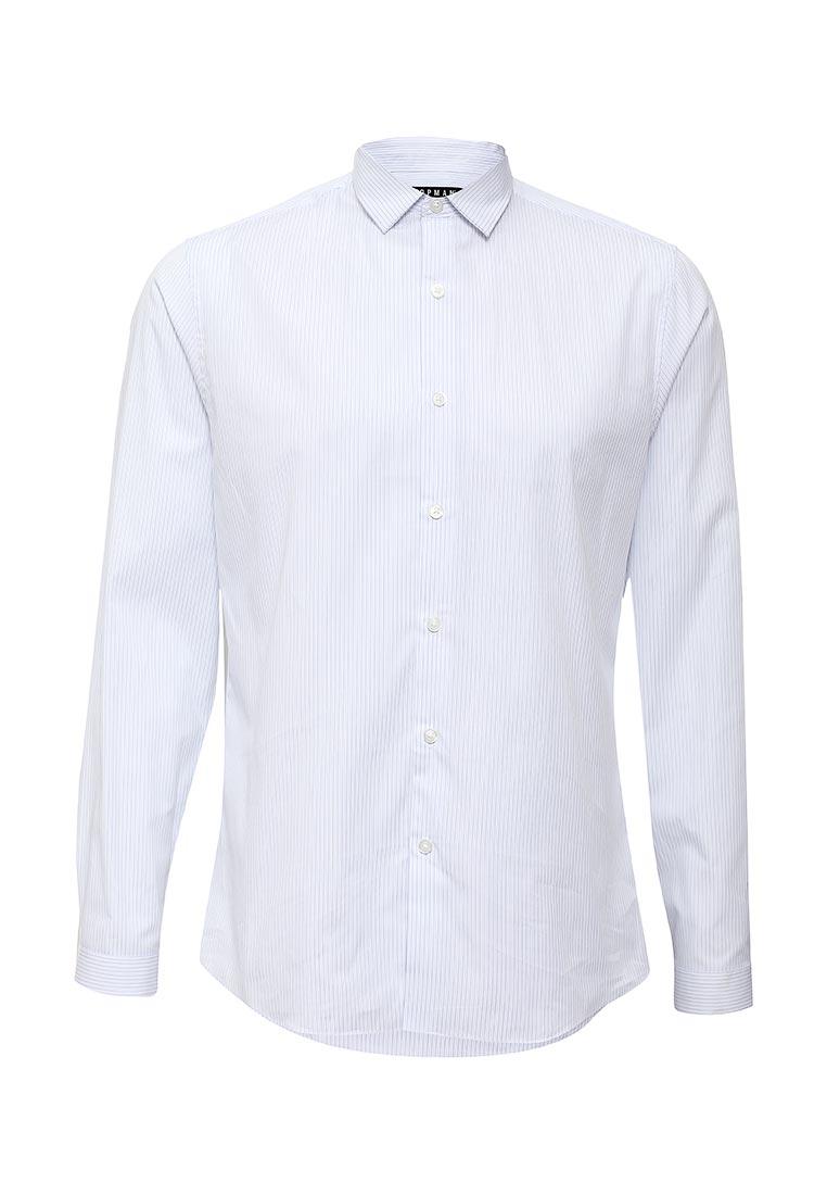 Рубашка с длинным рукавом Topman (Топмэн) 84C13LWHT