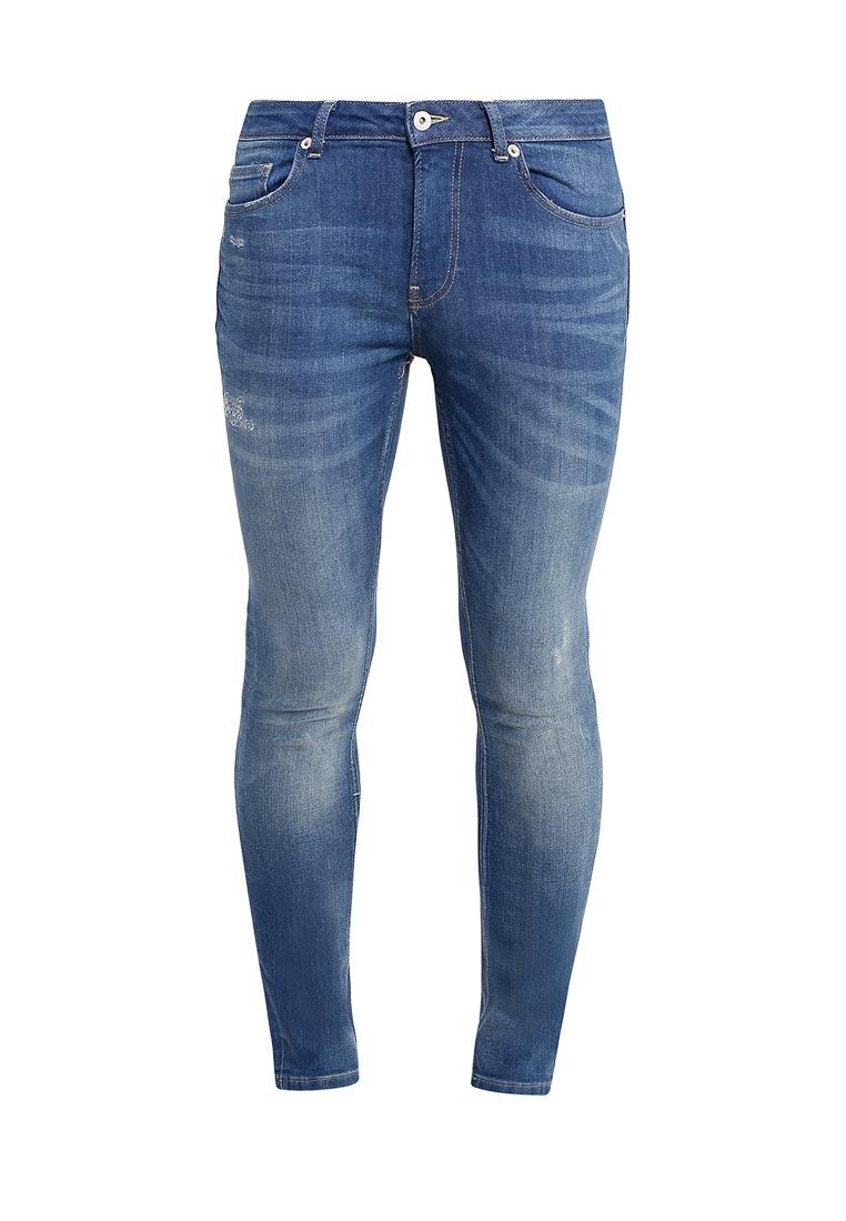 Зауженные джинсы Topman (Топмэн) 69D18MMST
