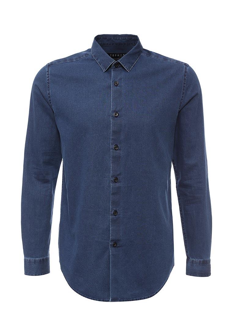 Рубашка с длинным рукавом Topman (Топмэн) 84F18LDEN