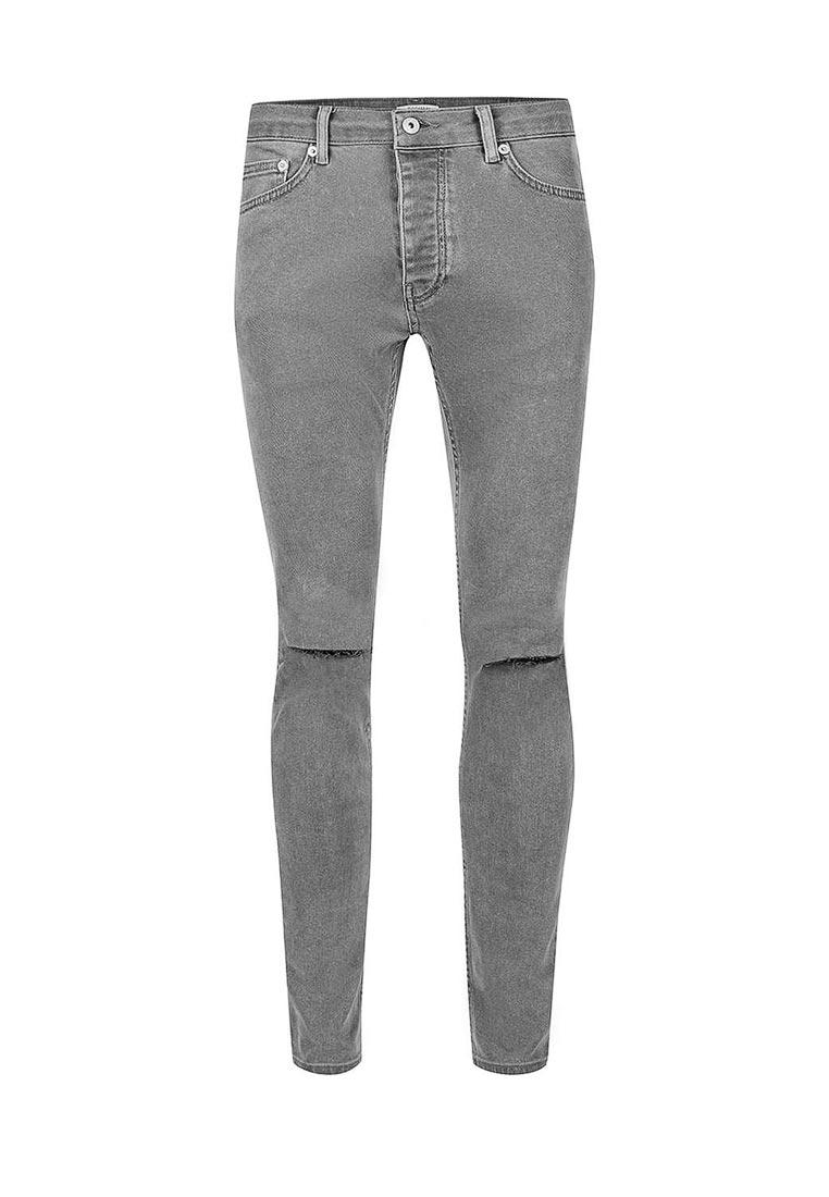 Зауженные джинсы Topman (Топмэн) 69B27NBLK