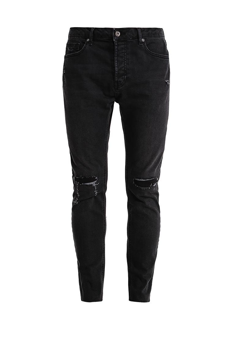 Зауженные джинсы Topman (Топмэн) 69C17NBLK