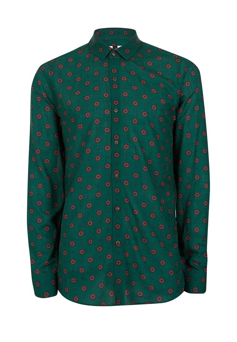 Рубашка с длинным рукавом Topman (Топмэн) 83U04NGRN