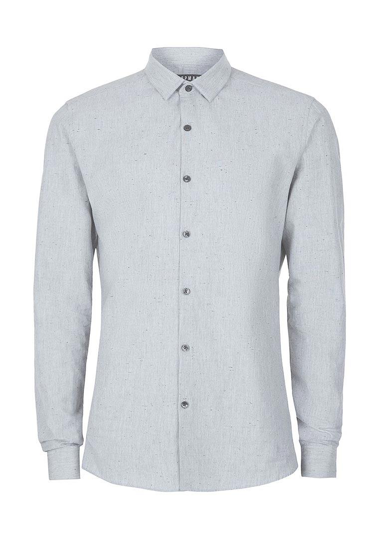 Рубашка с длинным рукавом Topman (Топмэн) 84L03NGRY