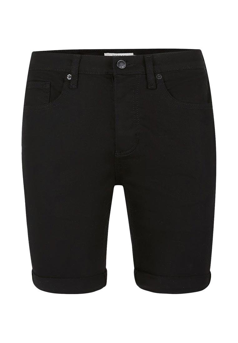 Мужские повседневные шорты Topman (Топмэн) 33D16MBLK
