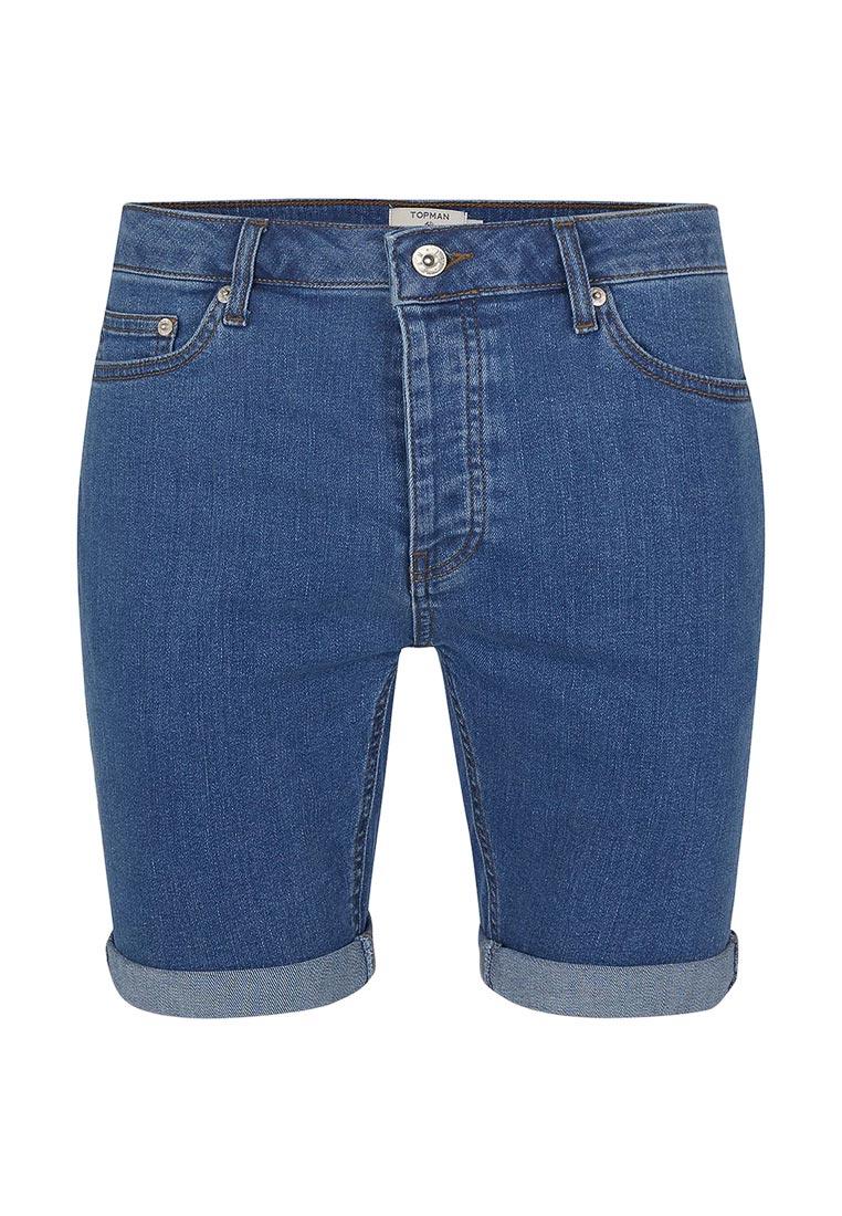 Мужские повседневные шорты Topman (Топмэн) 33D17MBLE