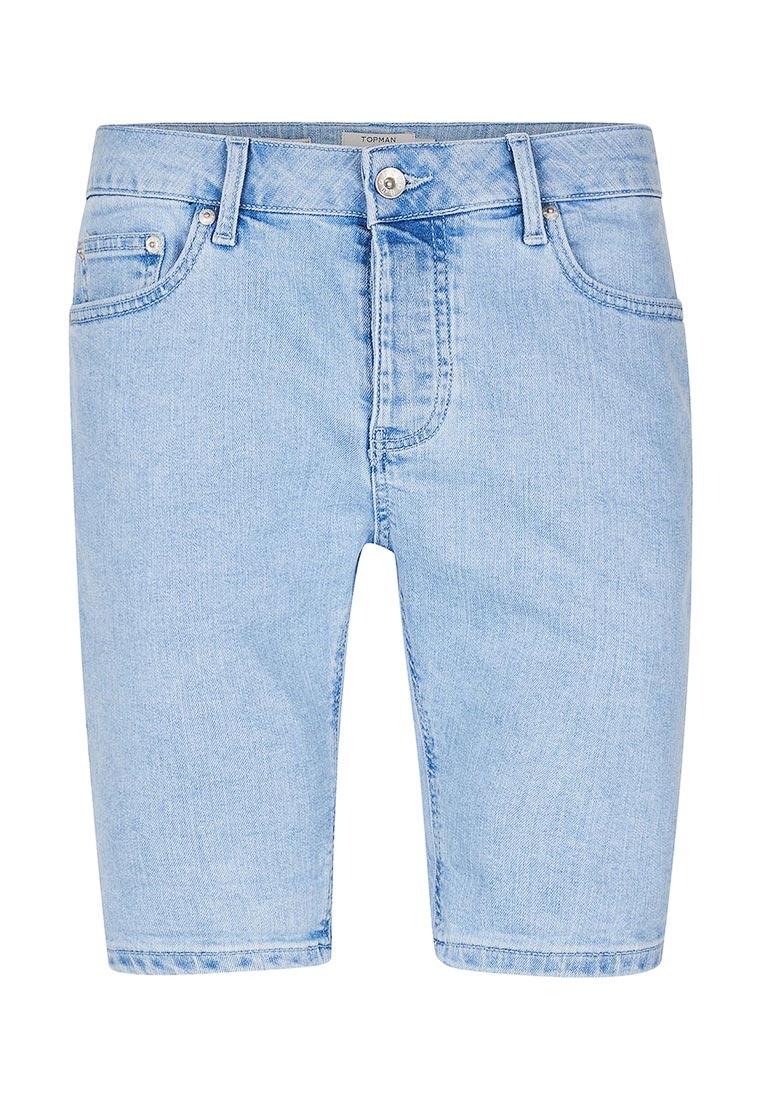 Мужские джинсовые шорты Topman (Топмэн) 33D18MLBL