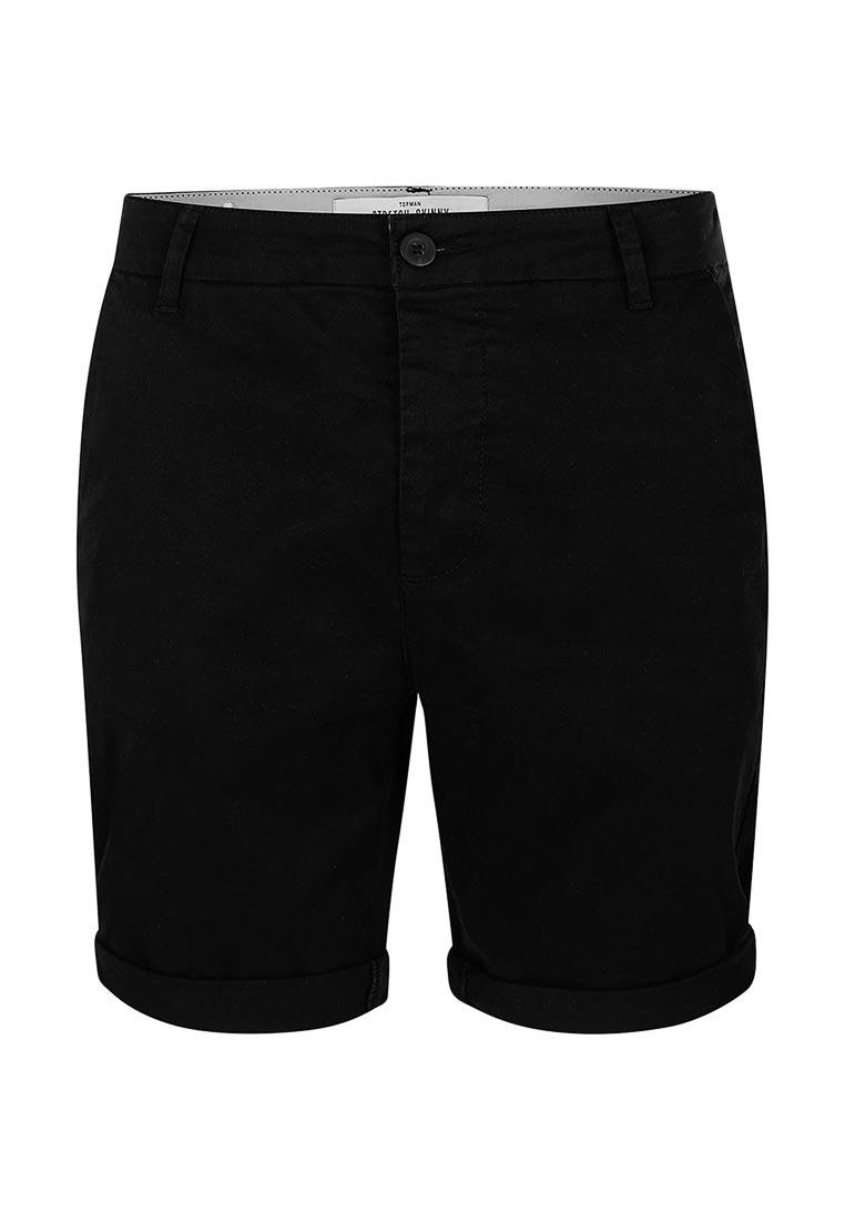 Мужские повседневные шорты Topman (Топмэн) 33S20MBLK