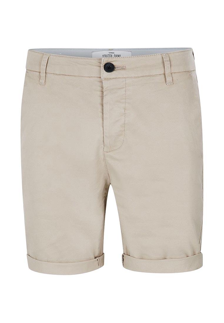 Мужские повседневные шорты Topman (Топмэн) 33S21MSTN
