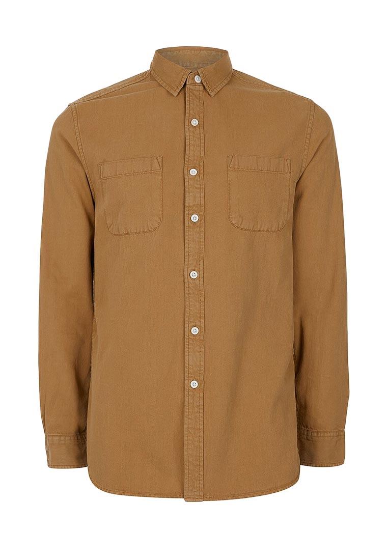 Рубашка с длинным рукавом Topman (Топмэн) 83D27NTAN