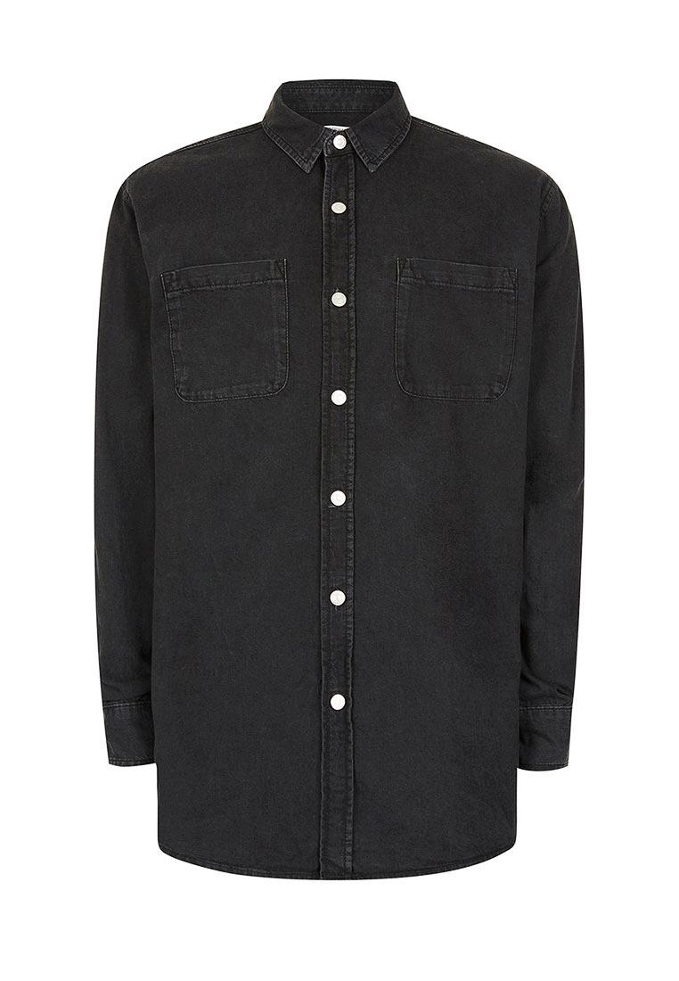 Рубашка с длинным рукавом Topman (Топмэн) 83E15NBLK