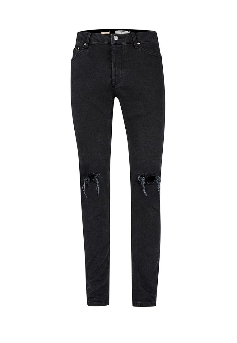 Зауженные джинсы Topman (Топмэн) 69B42NBLK