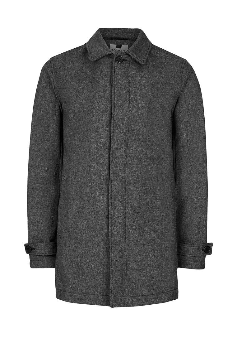 Мужские пальто Topman (Топмэн) 64F22LBLK