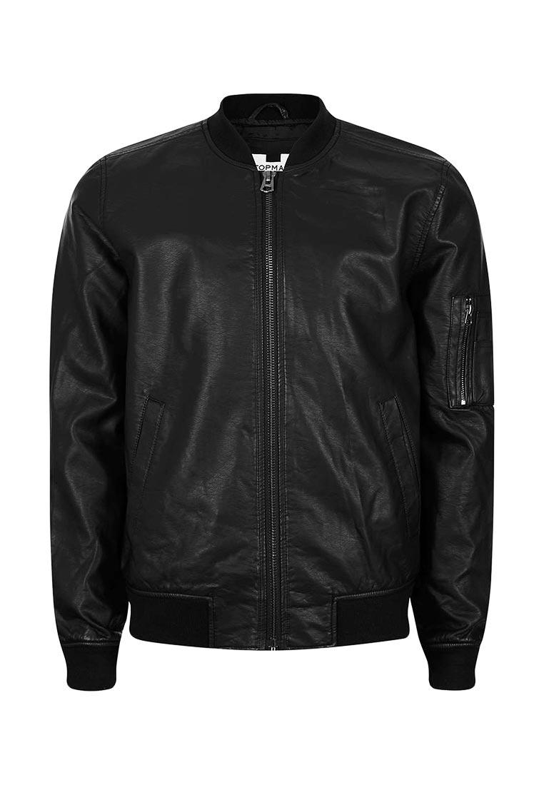 Кожаная куртка Topman (Топмэн) 64M37LBLK