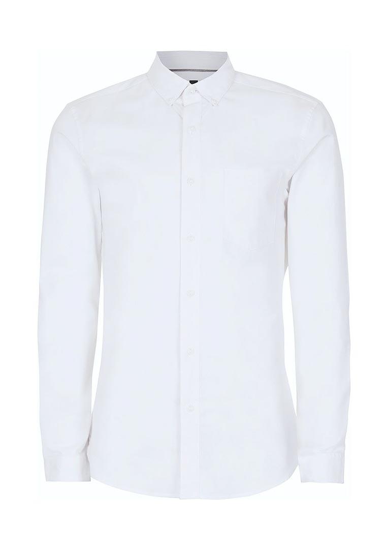 Рубашка с длинным рукавом Topman (Топмэн) 83B24NWHT