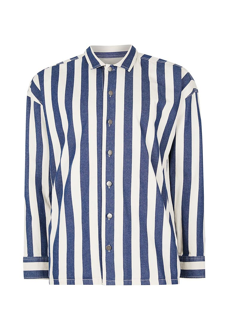 Рубашка с длинным рукавом Topman (Топмэн) 83O12NBLE