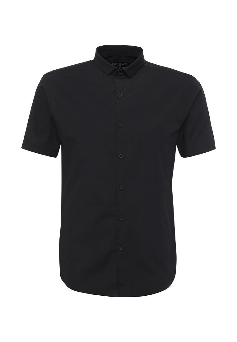 Рубашка с коротким рукавом Topman (Топмэн) 84A04NBLK