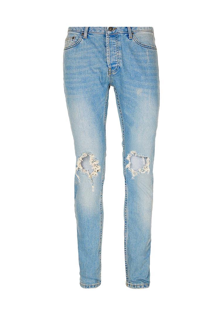 Зауженные джинсы Topman (Топмэн) 69B24OLST