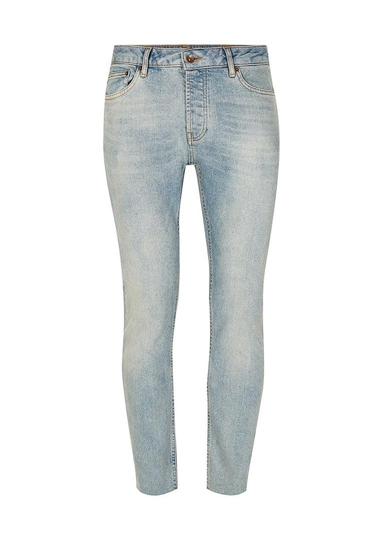 Мужские прямые джинсы Topman (Топмэн) 69B34OLST